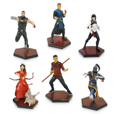 Disney Store Shang-Chi and the Legend of the Ten Rings Figurine Playset