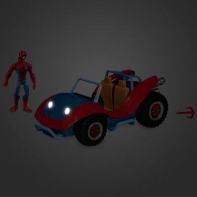 Disney Store Marvel Toybox Spider-Man and the Spider-Mobile Playset