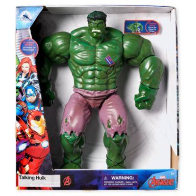 Disney Store Hulk Talking Action Figure