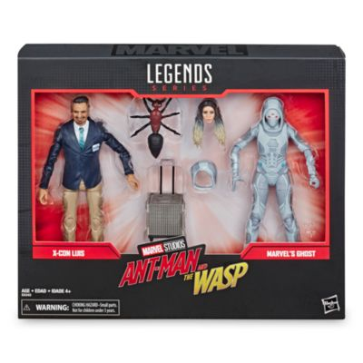 Hasbro Duo de figurines Luis et Fantôme articulées 15cm, Marvel Legends