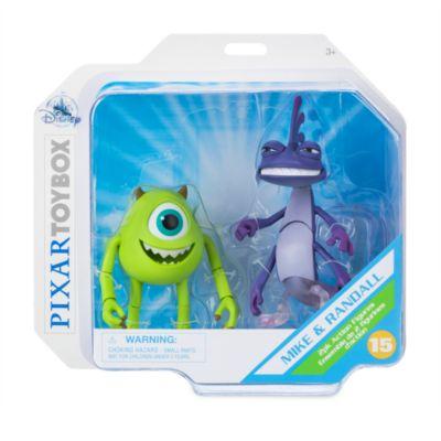 Disney Store Figurines Bob et Léon Bogue articulées, Disney Pixar ToyBox