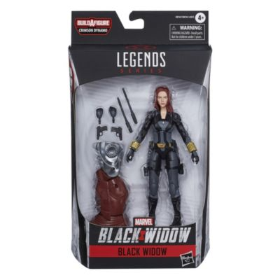 Hasbro Figurine Black Widow articulée15cm, Marvel Legends Series