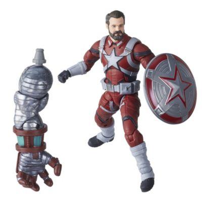Figura acción Guardián Rojo, serie Marvel Legends, Hasbro (15cm)