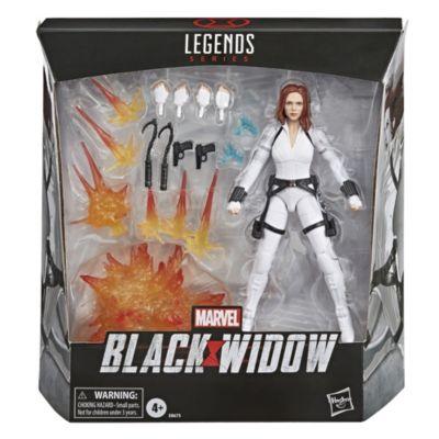 Figura acción exclusiva Viuda Negra, serie Marvel Legends, Hasbro (15cm)