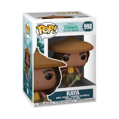 Funko Figurine Raya ave chapeau et cape Pop!en vinyle, Raya et le Dernier Dragon