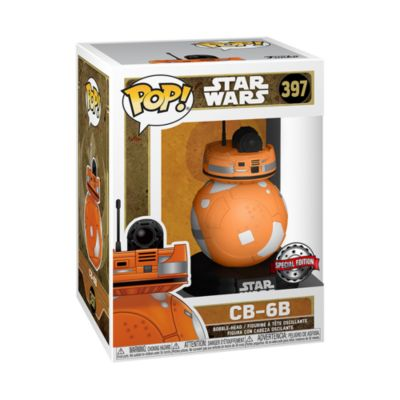 Funko - Star Wars - CB-6B - Special Edition - Pop! Vinylfigur