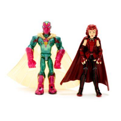 Disney Store Coffret de figurines articulées la Sorcière Rouge et Vision, Marvel Toybox