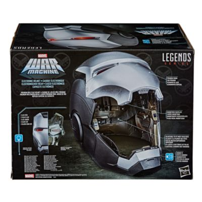 Hasbro War Machine Marvel Legends Series Premium Electronic Helmet