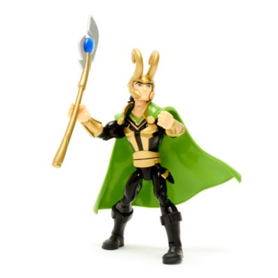 Disney Store Figurine Loki articulée, Marvel Toybox
