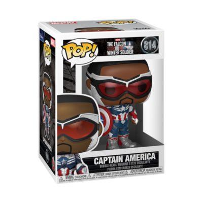 Funko Figurine Pop! Captain America en vinyle, Falcon et le Soldat de l'hiver