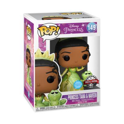 Personaggi in vinile Principessa Tiana and Naveen edizione speciale serie Pop! di Funko