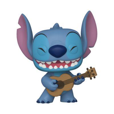 Funko Figurine Stitch avec un ukulélé Pop! en vinyle, Lilo & Stitch