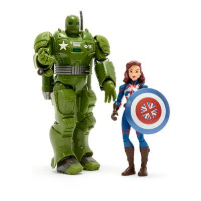 Set de juego Capitana Carter y Hydra Stomper, Marvel Toybox, Disney Store