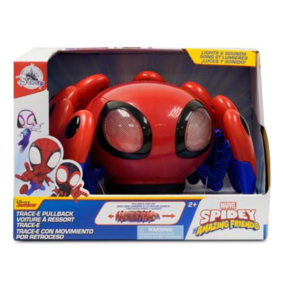 Disney Store Trace-E Pullback Toy, Spidey and His Amazing Friends