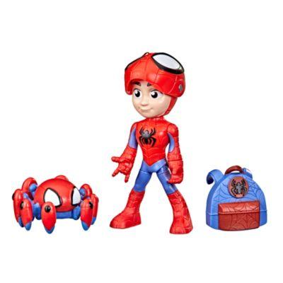 Hasbro figuras acción Spidey y Trace-E, Spidey y su superequipo