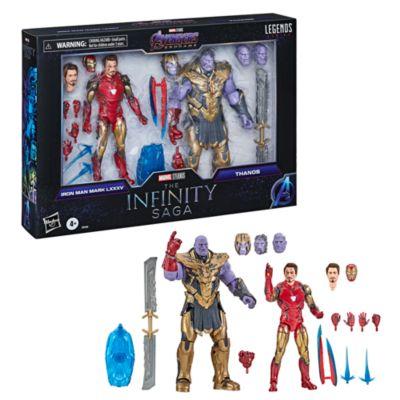 Hasbro Iron Man Mark 85 vs. Thanos Marvel Legends Series 6'' Action Figures