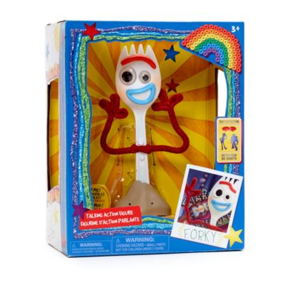 Disney Store Forky Talking Action Figure