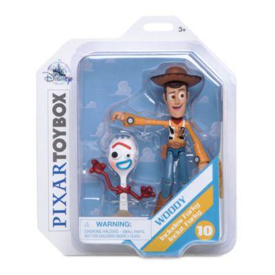 Disney Store Disney Pixar ToyBox Woody Action Figure