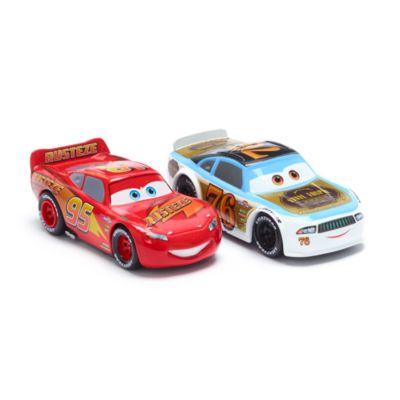 Set vehículos a escala Rayo McQueen y Rev Roadages, Disney Store (2 u.)