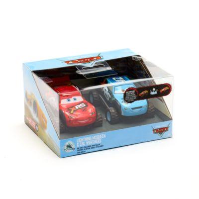 Disney Store - Lightning McQueen und Brick Yardley - Die Cast Doppelset