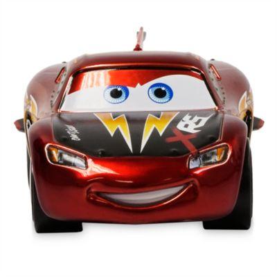 Disney Store Pack de voitures miniatures Flash McQueen, Terry Kargas et Paul Conrev