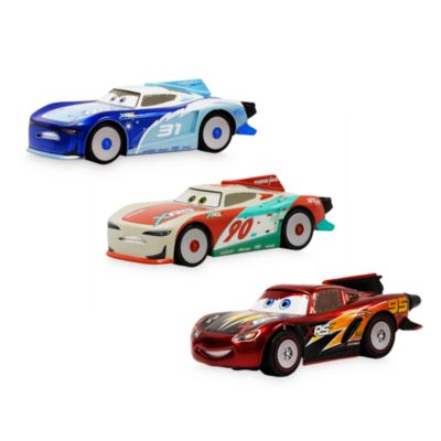 Disney Store Lightning McQueen, Terry Kargas and Paul Conrev Die-Cast Pack