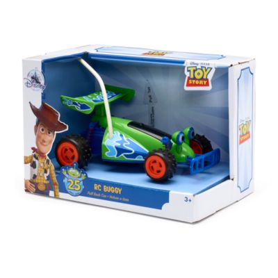 Disney Store RC Buggy Pullback Car, Toy Story