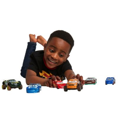 "Disney Store Duo de voitures miniatures Speedy Comet et Steve ""Slick"" Lapage"