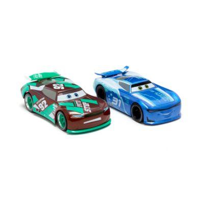 Disney Store - Cam Spinner und Sheldon Shifter - Die Cast-Autos, 2er-Pack