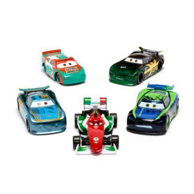 Disney Store - Disney Pixar Cars - Rennautos mit Rückzugfeder - Die Cast-Set