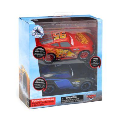 Disney Store Duo de voitures miniatures Flash McQueen et Jackson Storm