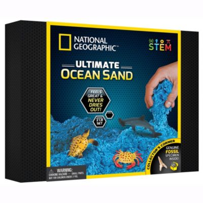 Disney Store National Geographic Ultimate Ocean Sand Play Set