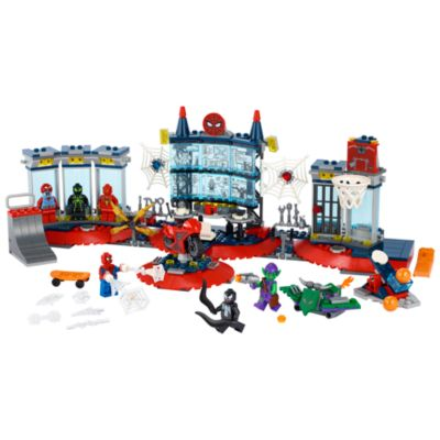 LEGO Marvel Spider-Man Attack on the Spider Lair Set 76175