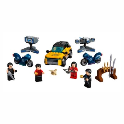 LEGO - Marvel - Shang-Chi and the Legend of the Ten Rings - Escape from the Ten Rings - Set 76176