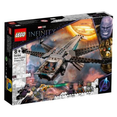 LEGO Marvel Dragon Flyer de Black Panther (set 76186)