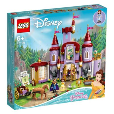 LEGO Disney Belle and the Beast's Castle Set 43196