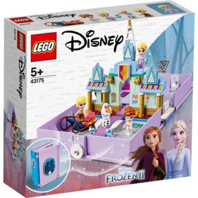 LEGO43175Les aventures d'Anna et Elsa dans un livre de contes