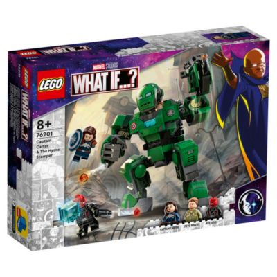 LEGO Marvel, Capitana Carter y meca gigante Hydra (set 76201)