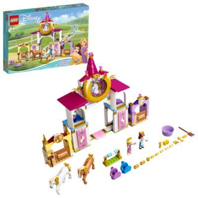LEGO Disney Princess Belle and Rapunzel's Royal Stables Set 43195