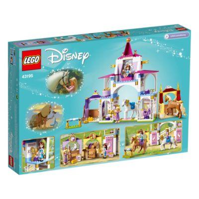 LEGO Disney Pricess Establos reales Bella y Rapunzel (set 43195)