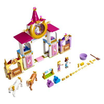 Set LEGO 43195 Principesse Disney Le scuderie reali di Belle e Rapunzel