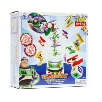 Disney Store Buzz Lightyear Breakout Stacking Game