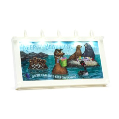 Disney Parks Mini puzzle lumineux Panneau publicitaire Le Monde de Dory