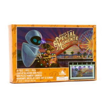 Disney Parks - WALL-E - Mini-Puzzle im Werbetafeldesign mit Leuchteffekt
