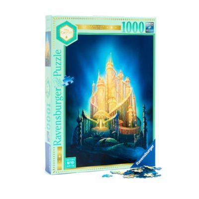 Ravensburger Puzzle 1000pièces Le château d'Ariel, Disney Castle Collection