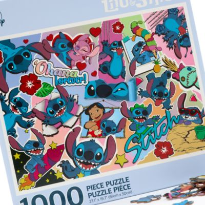 Disney Store Stitch 1000 Piece Puzzle, Lilo and Stitch