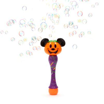 Disney Store - Micky Maus - Kürbis-Seifenblasenzauberstab mit Leuchteffekt