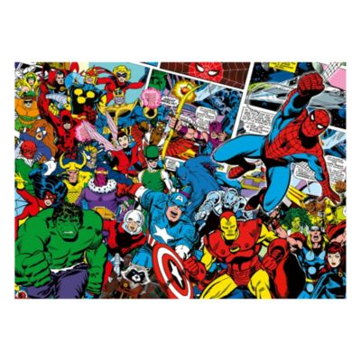 Puzzle 1000 pezzi Marvel Challenge Ravensburger