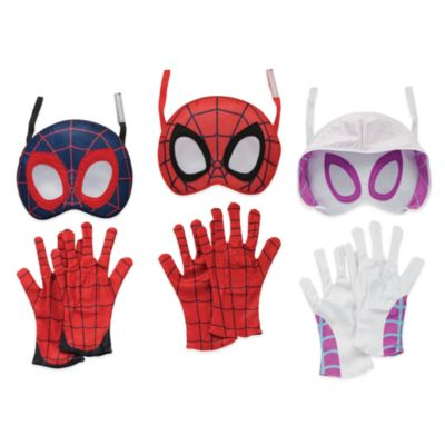 Disney Store Spidey and His Amazing Friends Mask and Gloves Set