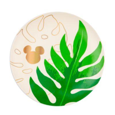 Disney Parks - Micky Maus - Tropical Hideaway Kollektion - Teller, 4er-Set